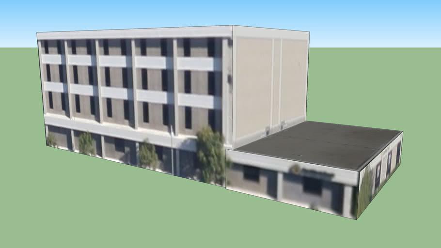 Building in West Covina, CA, USA