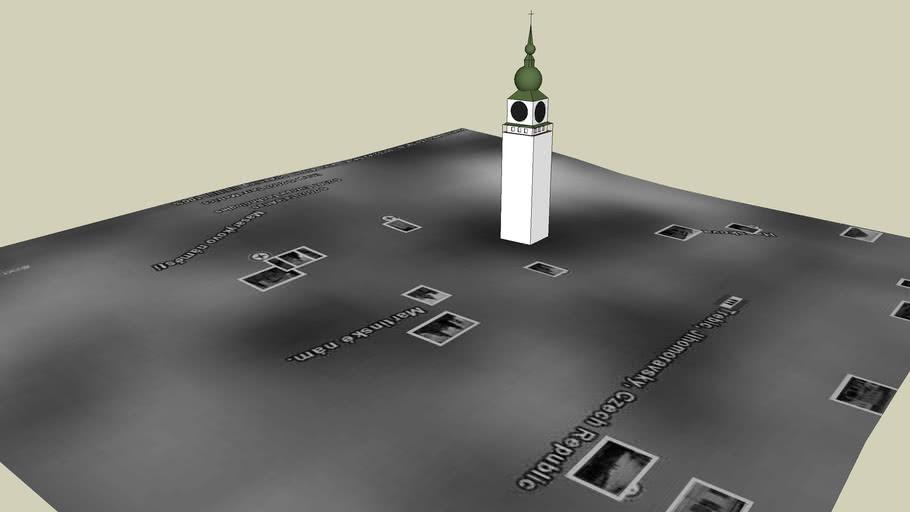 Městská věž v Třebíči (CZ)
