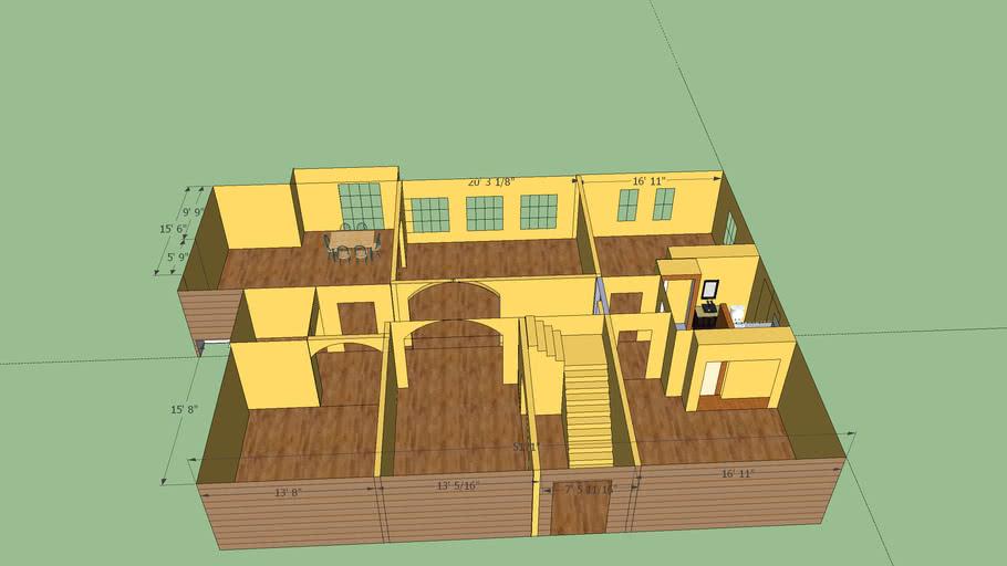 First floor 5-16 with bathroom