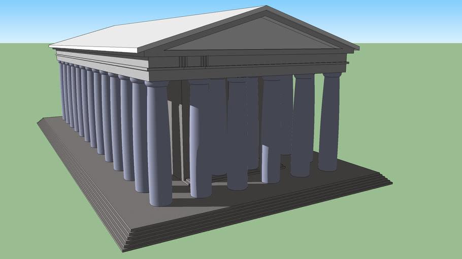 Giant Greek Temple