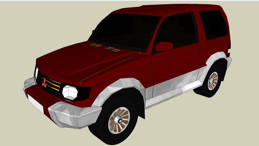 Red/Chrome Mitsubishi Montego