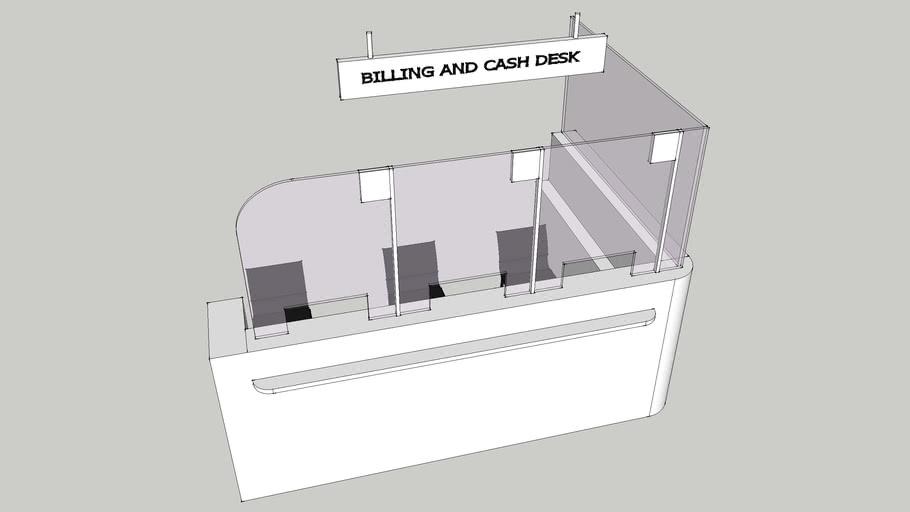 billing and cash desk