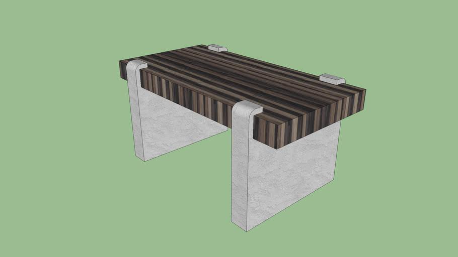 bench / modern style bold bench