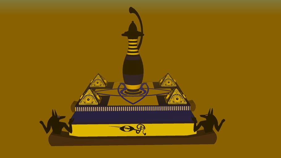 Anubis sacred pharaohs blood relic black magic
