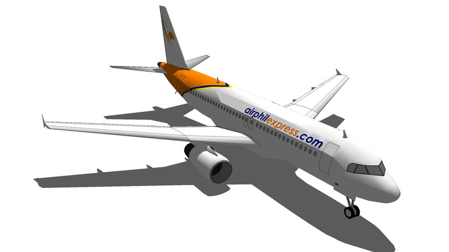 Airphil Express Airbus A320-200