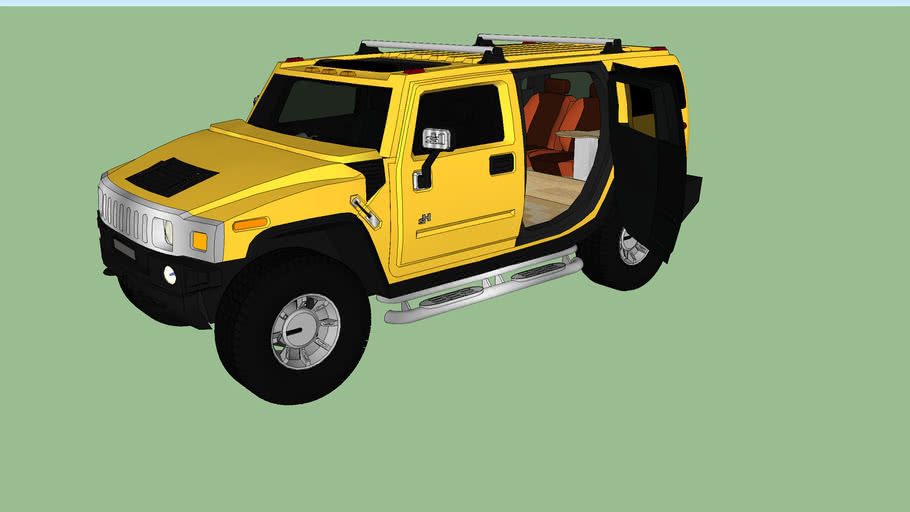 customized hummer h2