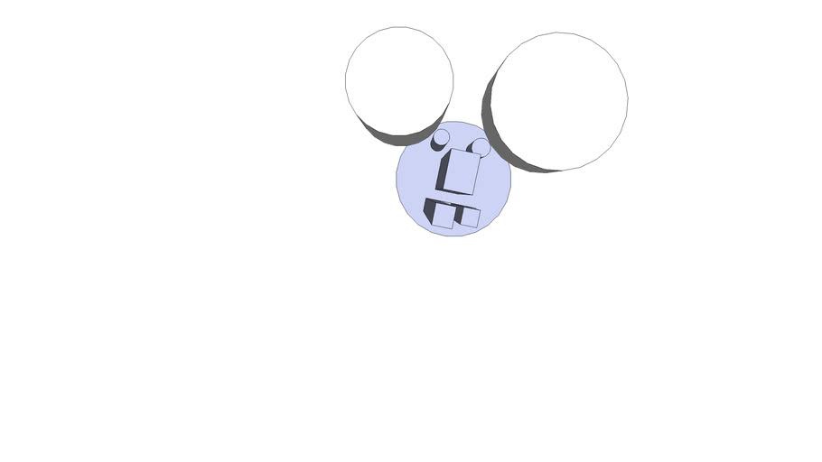 Mickey Mousse 3D (défoncé)
