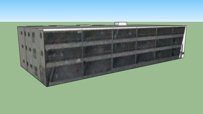澳大利亚维多利亚 富茨克雷的建筑模型
