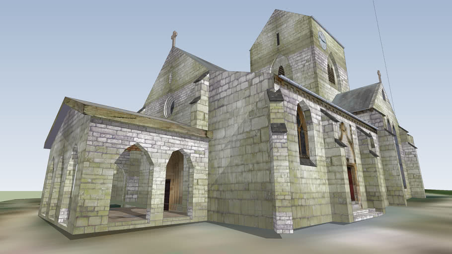 Eglise Saint Lumier en Champagne