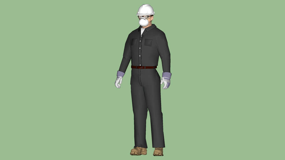 """Safety First Series - Process Operator - OSHA Level """"D-2"""" PPE Protection - Uniform - Grey"""