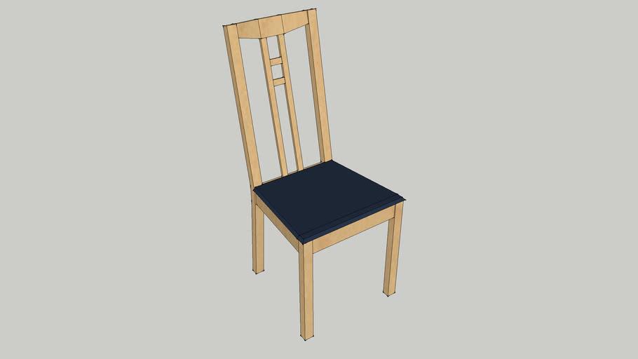 Ikea Adam Dining Chair 3d Warehouse