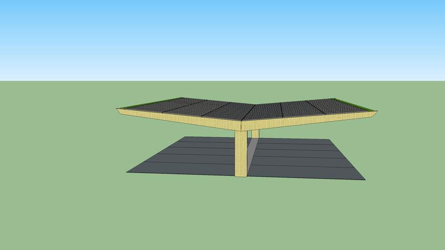 Solar Precast Carport
