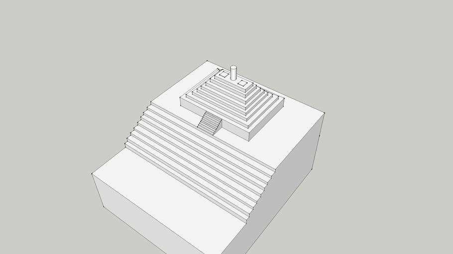 Mayan Pyramid/ STAR WARS Yavin 4 Temple