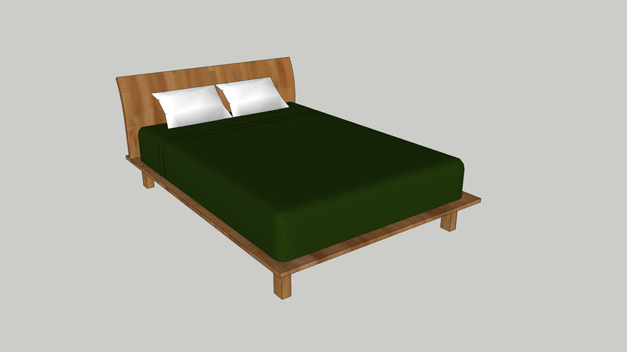 Bed (green edition)