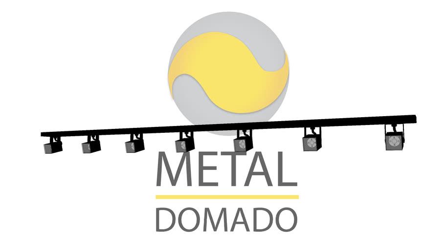 SPOT MINI QUADRADO COM SETE 11369 - METAL DOMADO ILUMINAÇÃO