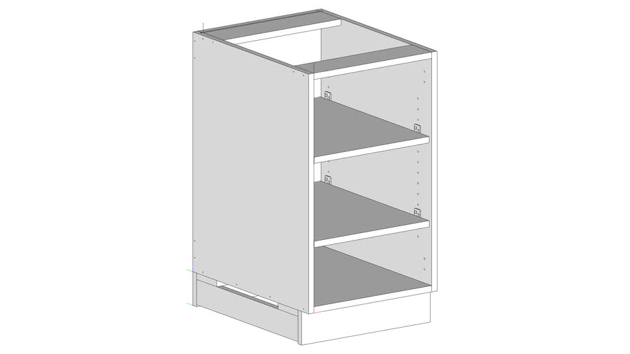 Commercial Cabinet - Base Carcass