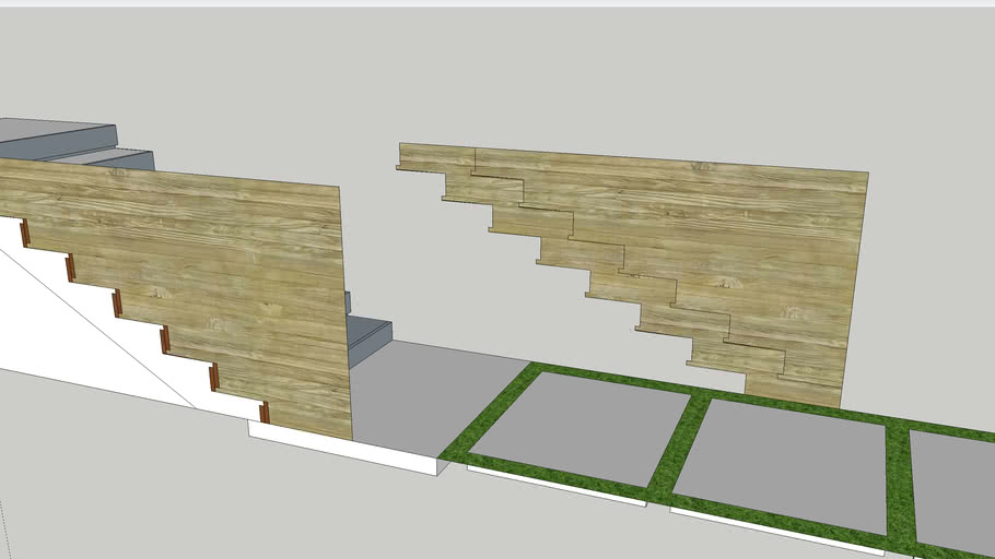 Concrete Stairs MODEL 4