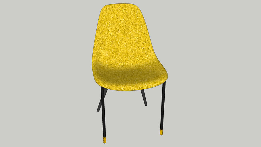 81524 Chair Montmartre Yellow