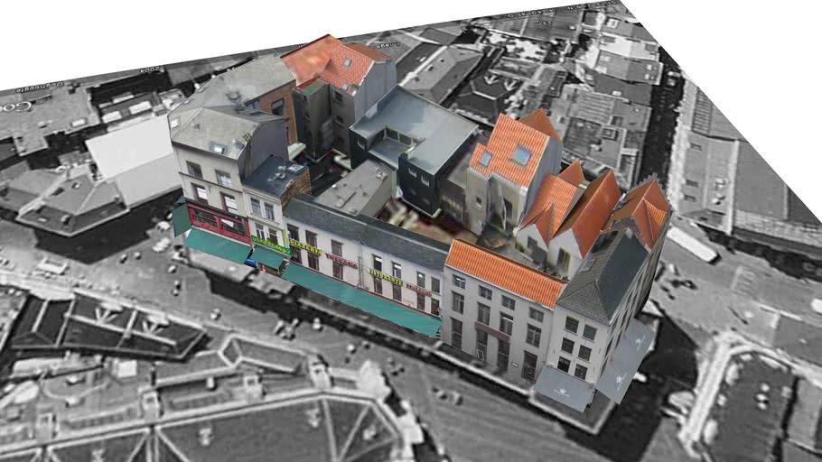 Blok Jan Blomstraat, Antwerp
