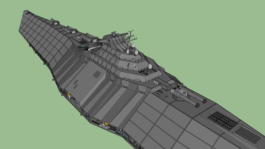 Tcs Concordia Supercruiser 3d Warehouse
