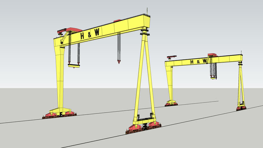 Harland and Wolff - Samson and Goliath Cranes
