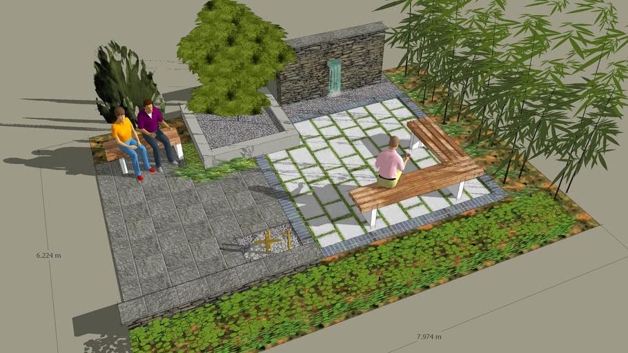 Japanese Modern Garden 3d Warehouse