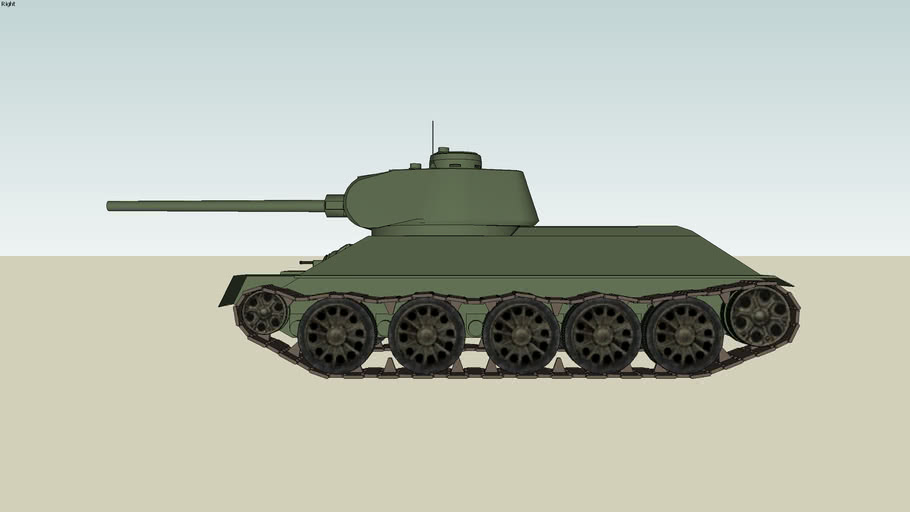 T-34 85 medium tank