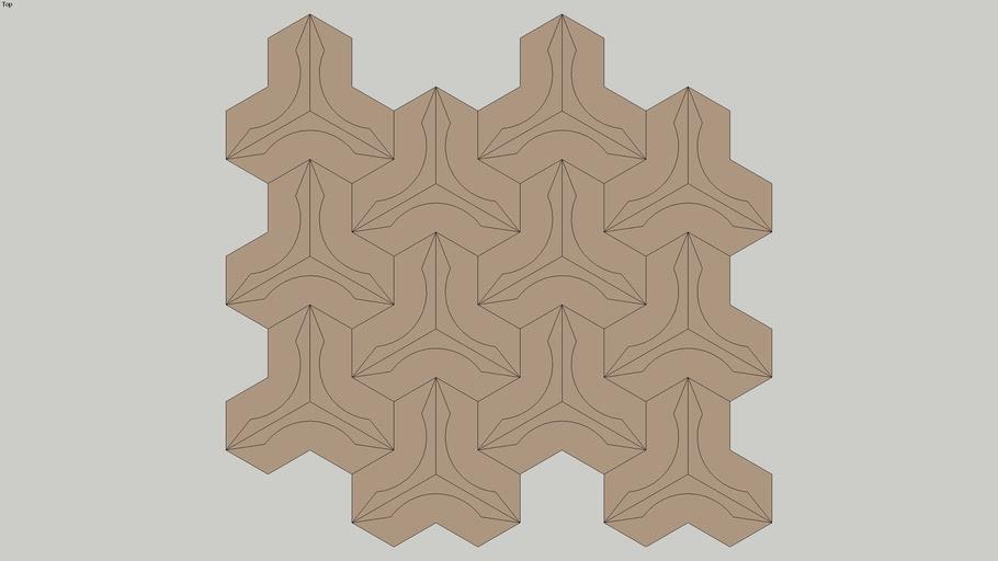 Pastilha JAZZ FUSION COOPER, de metal/aço inox, LUZZO REVESTIMENTOS