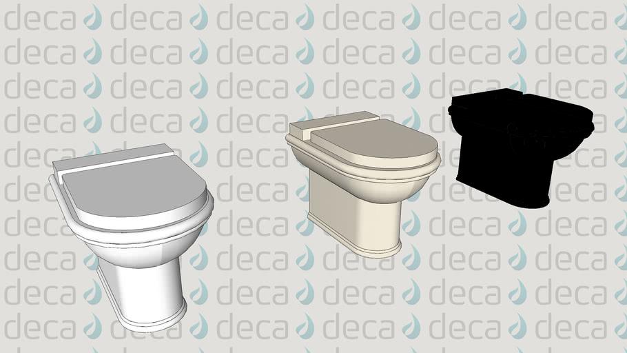 Deca Bacia sanitária convencional Belle Epoque - Código P.2