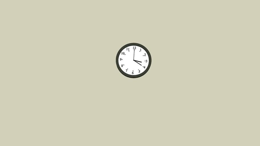 Clock - Horloge