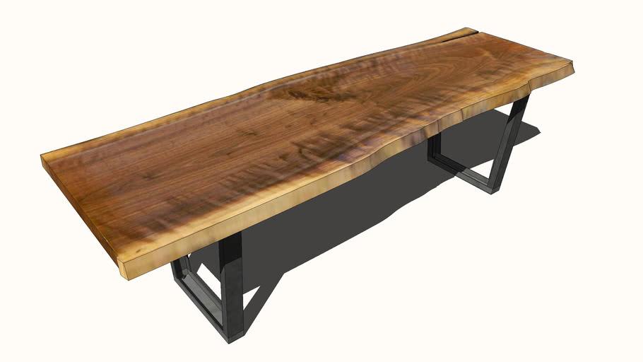Live Edge Table 3d Warehouse