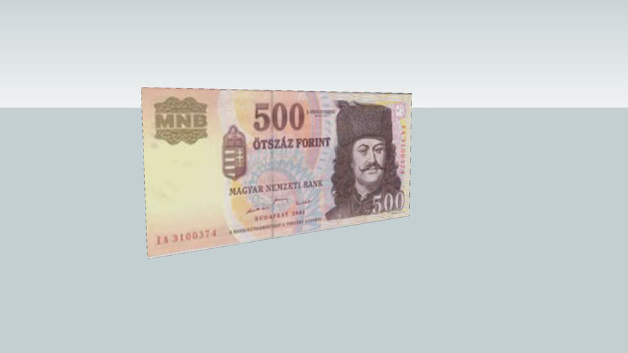 500 Ft-os bankjegy