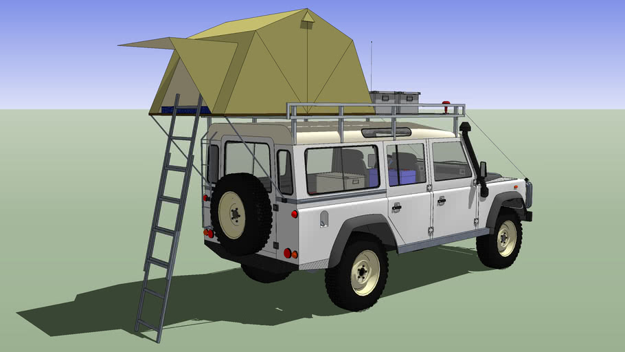 Land Rover, Defender 110 + Rooftent