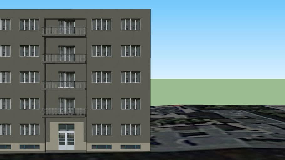 Kneza Borne 14 - Zgrada