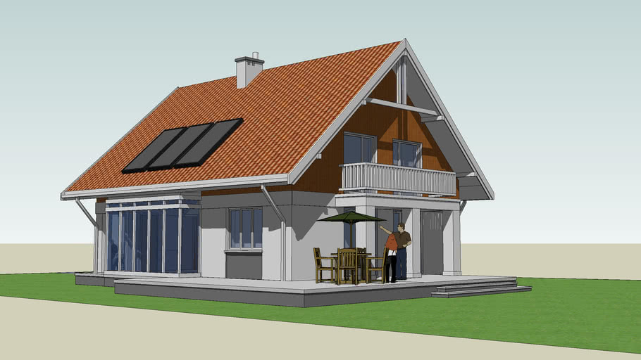 small family home