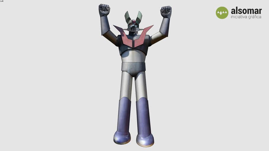Mazinger Z statue