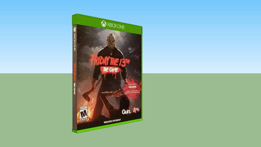 Friday the 13th: The Game (Online Only) Xbox One Game Cases