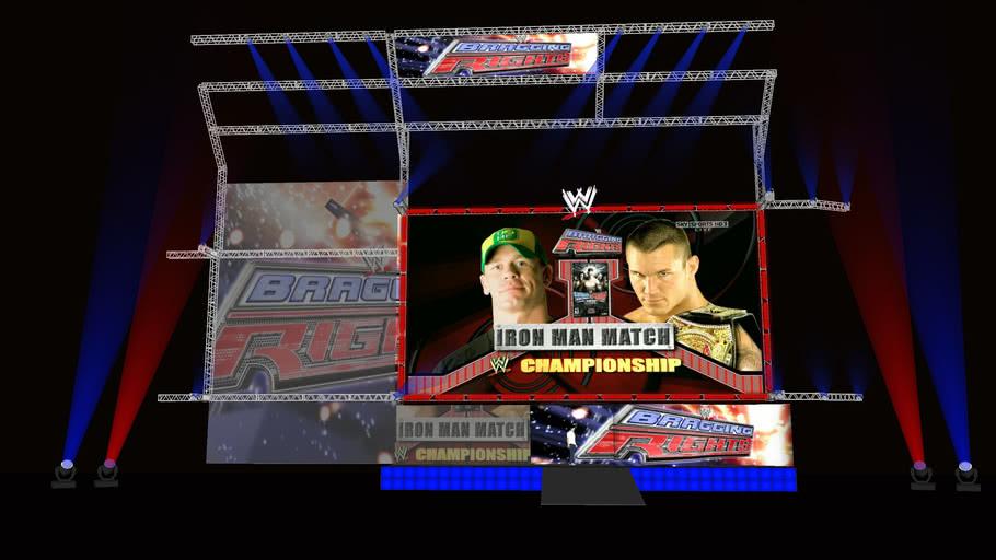 WWE BraggingRights Stage