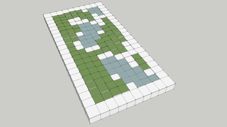 parametric landscape - pixelscape