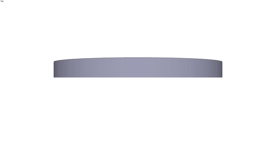 Circular steel plate Ø 280 x 25 mm