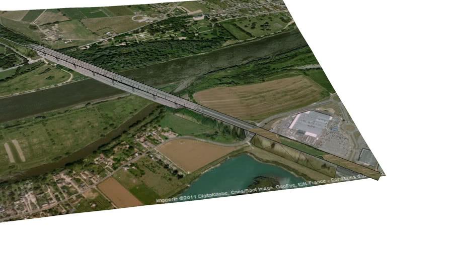 Pont AUTOROUTE A13 - OISSEL - TOURVILLE LA RIVIERE