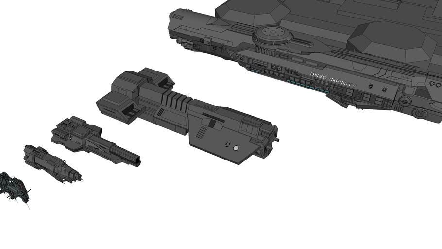 UNSC Ship Scale