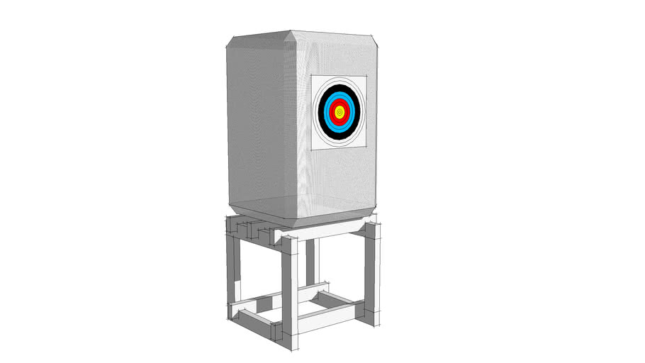 Archery Target Butt