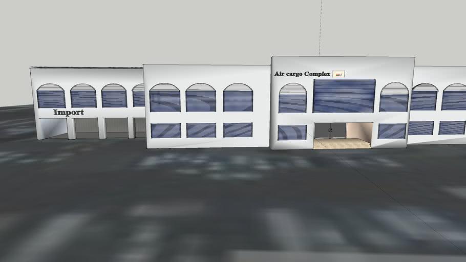 Oman Air service cargo building
