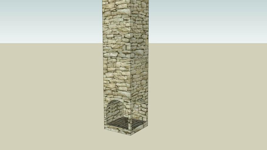 corner chimney