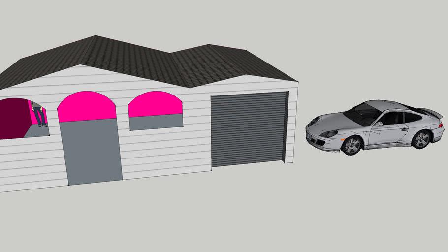 a 3D house