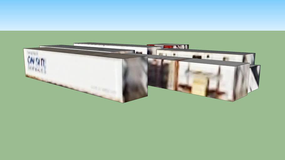 圣路易斯, 密苏里州, 美国的建筑模型