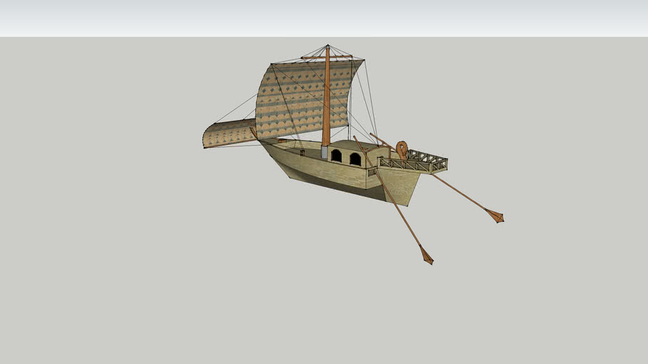 Roman Sailing Vessel (First Century)