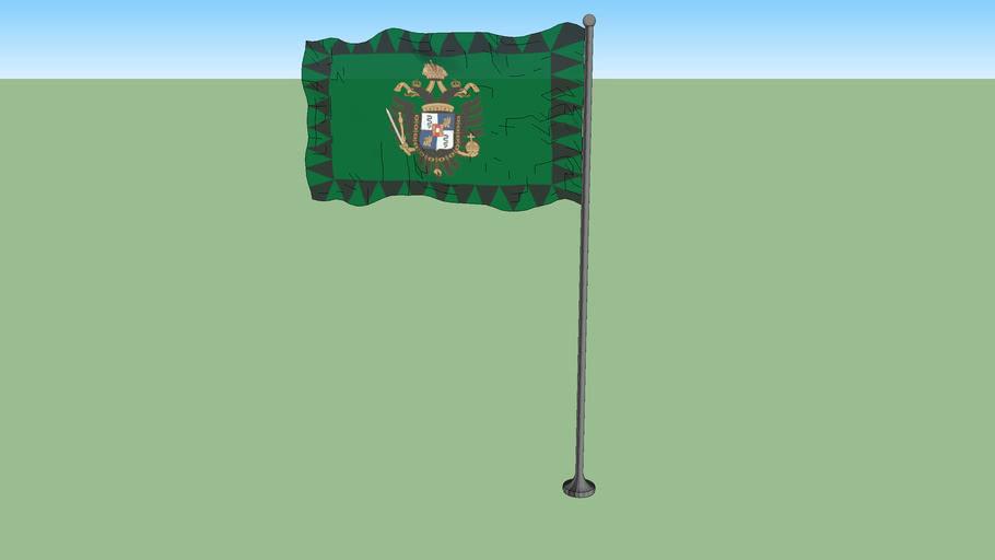Flag of the kingdom of Lombardy-Venetia