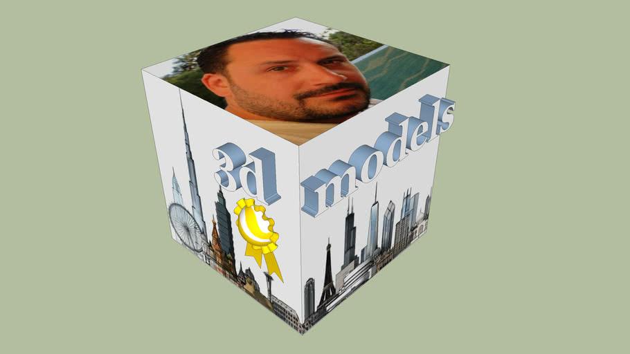 Pavel Vanicek - logo 3d cube